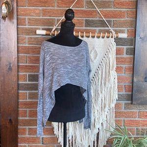 🌹 Material Girl Crop Sweater